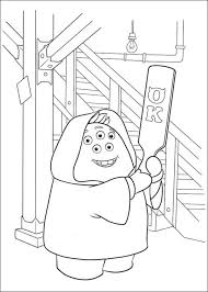 kids fun 45 coloring pages monsters university
