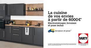 cuisine darty cuisine votre cuisine à partir de 6000 euros