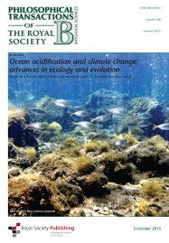 ocean acidification and rising temperatures may increase biofilm