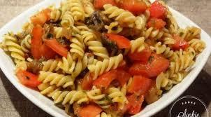 cuisine pates salade de pâtes aux aubergines la tendresse en cuisine