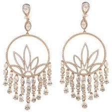 Peridot Chandelier Earrings 1990s Peridot Diamond Gold Chandelier Earrings For Sale At 1stdibs