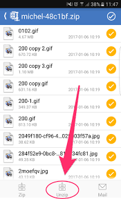 how to unzip files on android downloading zip files on your android phone or tablet