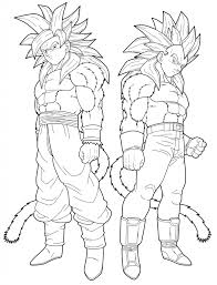 dragon ball z coloring pages goku and trunks coloringstar