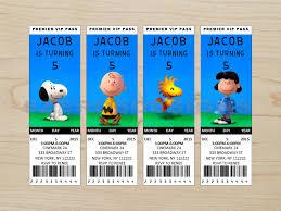 peanuts movie invitation peanuts movie birthday peanuts