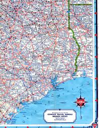Interstate 10 Map Old Highway Maps Of Texas