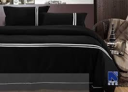 Black Duvet Cover King Size Queen Size Black Comforter Black Comforter Sets For Less Bedroom