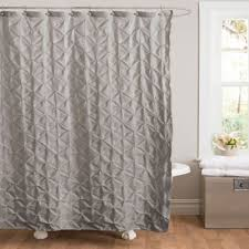 Curtain Rosettes Buy Gray Textured Shower Curtain From Bed Bath U0026 Beyond