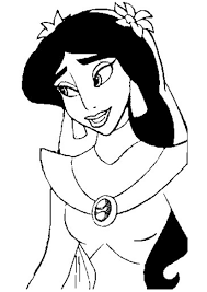 jasmine coloring pages princess coloring pages part 2