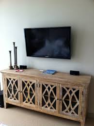 Wall Mounted Credenza I Like The Look Of The Longer Cabinet Beneath The Wall Mounted Tv