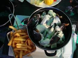 la cuisine au belçika usulü rokfor soslu midye picture of la cuisine au beurre