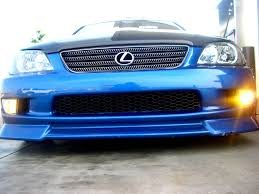 lexus sedan jdm lexus is300 aftermarket jdm fog lights dash z racing blog