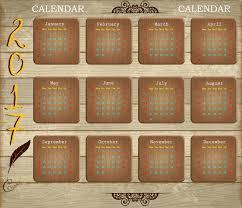 calendar 2017 free vector download 1 519 free vector for