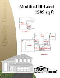 Modifying House Plans by Modified Bi Level With 3 Car Garage 2004135 By E Designs Too Big