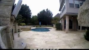 Precision Pools Houston by Allied Outdoor Solutions Carvestone Pool Deck With Tub And