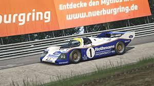 rothmans porsche 962 porsche 962 for ac u2013 comparison video u2013 virtualr net u2013 sim racing news