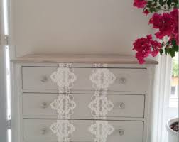 White Painted Furniture Shabby Chic by Painted Dresser Etsy