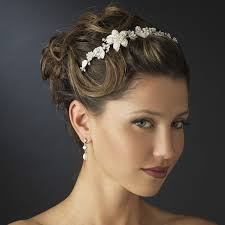 wedding headbands floral bridal headband headpieces bridal hair accessories