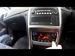 2005 307 1 6 hdi sport heater resistor location youtube