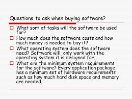 What To Ask When Buying by Software Introduction Ppt Download
