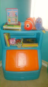 Toybox With Bookshelf Finding Nemo Toy Box Bookcase For Baby Nursery Diy Mommy Needs A