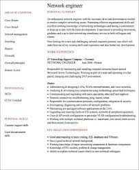 Ccna Resume Sample by 23 Engineering Resume Templates In Pdf Free U0026 Premium Templates