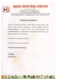 authorization letter ph united marine distributors