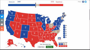 National Election Results Map by Trump Vs Hillary 2016 Election Results Prediction Youtube