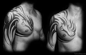 55 tribal tattoos for chest