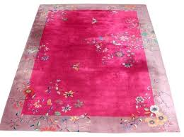 Pink Floral Rugs Fabulous Chinese Art Deco Rug With Butterfly U0026 Floral Pattern