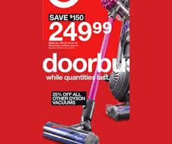 dyson v6 motorhead cordless vacuum deal at target black friday sale