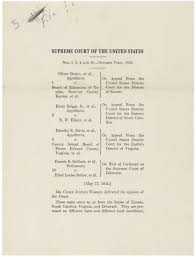 our documents brown v board of education 1954