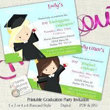 kindergarten graduation invitations preschool graduation invitations like this item preschool graduation