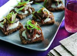 rye bread canapes crispy canapés with seville orange cmb foods