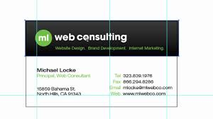 Card For Business Cards How To Setup And Design Business Cards In Adobe Illustrator Youtube