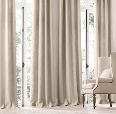 Restoration Hardware Belgian Opaque Linen All Drapery Rh