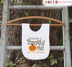 thanksgiving bib everyone is thankful for me bib