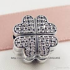 pandora sterling silver clip bracelet images Best new 2016 valentine day 925 sterling silver petals of love jpg