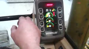 accessing service mode on caterpillar 300b series excavators