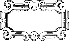 free vector u2013 ornate frame border clip art image oh so nifty