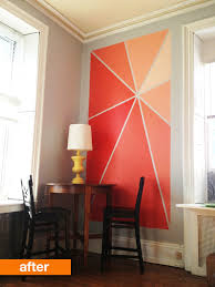 thinking of painting one wall in your house a different colour
