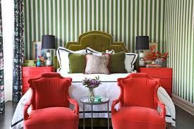 4 homes that make red u0026 green look stylish all year long