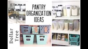 dollar tree pantry organization ideas organize with me momma
