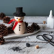 wooden snowman diy wooden snowman kit on food52