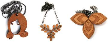 wood necklace designs images Forty laser cut jewelry designers from a to z jpg