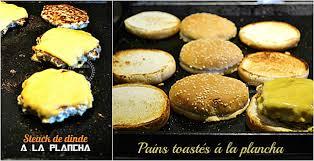 cuisiner à la plancha gaz plancha hamburger recette d hamburger de dinde ou poulet