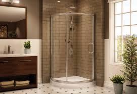 shower magnificent corner shower stalls with glass doors