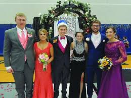 bureau valley prom court members at bureau valley high saukvalley com