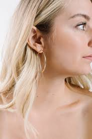large hoop earrings large hoop earrings in gold piper scoot