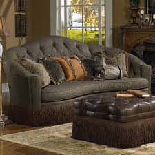 Bean Shaped Sofa Sofa Dramatic Kidney Shaped Sofa And Oversized Ottoman Cushions
