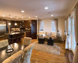 Open Plan Kitchen Living Room Ideas Open Kitchen Living Room Designs India Wall Colors Plan Layout